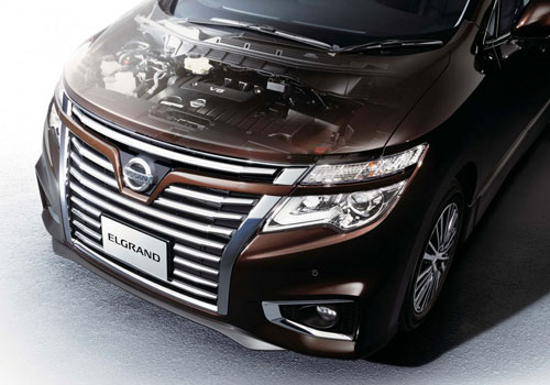 performa mesin New Nissan Elgrand 2015